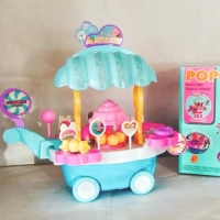 Mainan anak gerobak popcorn indonesia luxury pop corn cart musik