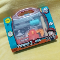 Mainan tool set anak alat tukang toolset koper power tools obeng