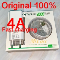 CHARGER OPPO 4A FAST CHARGING VOOC FLASH ORIGINAL 100% ( AK779GB )