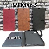 Flip Wallet Cover Mi Max 3 Sarung Hp Kulit Xiaomi MiMax3 Case Casing