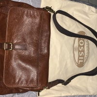 Fossil Post Man Bag Genuine Leather