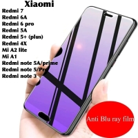 Tempered glass anti blue light xiaomi redmi note 3 5a prime 5 pro UV