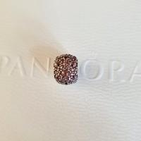 Pandora Pink Shimmering Droplets Charm original Silver 925 ALE