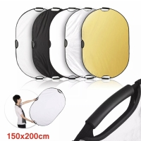 Selens Reflector Oval 150x200cm 5 in 1 5 color 150 x 200 cm Portable