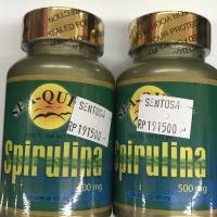 Spirulina tablet 500 mg sea quill 30 tablet