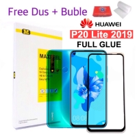 MAXFEEL Tempered Glass Huawei P20 Lite 2019 Full Cover Full Glue