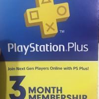 PS4 PSN 3 Bulan