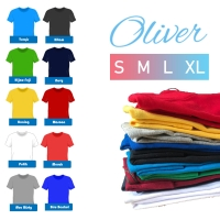 Kaos Polos Oblong Cotton Combed Premium Oliver