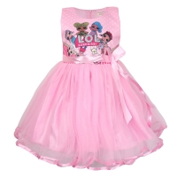 Dress Pesta Anak cewe LoL Surprise Tutu Lace Import Keren