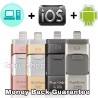 USB OTG Flash Drive Disk Flashdisk Iphone Android 3 in 1 32GB 64GB 128