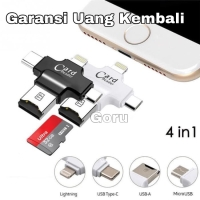 Card Reader OTG 4 in 1 Micro Usb / Type C / android / iphone 6 7 8 ios