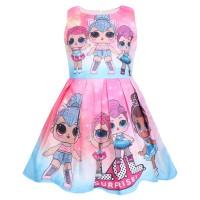 Baju Dress anak cewe LoL Surprise Doll Import Lucu