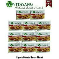 Paket 16box bekatul beras merah