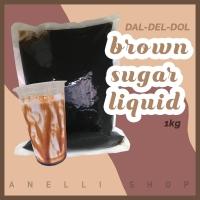Dal-Del-Dol Gula merah cair / brown sugar liquid 1 kg