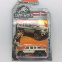 matchbox mercedes benz g63 amg 6x6 jurrasic world