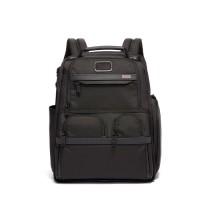 TUMI Alpha 3 Compact Laptop Brief Pack - Black ( PO10D )