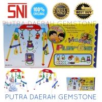Toy-06 Playgym Kado Mainan Anak Edukasi Musik Lagu Baby Play Gym SNI