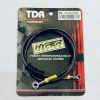 Brake Hose / Selang Rem Depan TDR Racing Black Carbon - 35 inch 90 cm