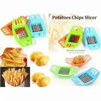 Pemotong Kentang Slicer Chopper French Fries Potato Cutter