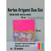 Kertas Origami Double Side, Kertas Origami 2 Sisi