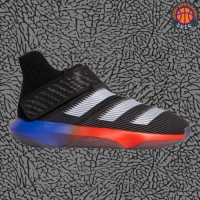 Sepatu Basket Sneakers Adidas Harden BE 3 Black Blue Orange Pria Wanit