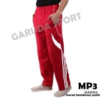 Celana panjang training merah putih edisi agustusan bhn Diadora import