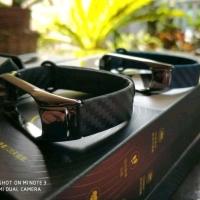 Xiaomi Mi Band 3 Strap Replcament Carbon Metal Design Wristband Strap