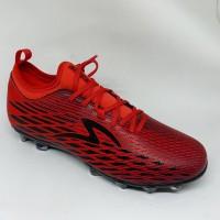 Sepatu bola specs original Swervo Venero FG red new 2019