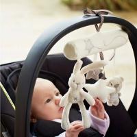 Mainan Boneka Rattle bayi bisa Music & Kerincingan Gantungan Stroller