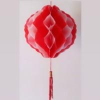 pompom garland gantung tassel dekorasi dirgahayu HUT RI