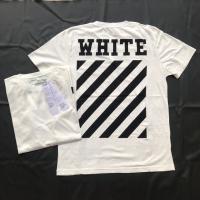 Off White C/O Virgil Abloh Tee - White (ORIGINAL BLACK MARKET)