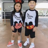 Waist bag anak / bum bag kids Mickey n minie Mouse tas pinggang READY