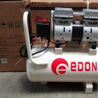 Kompresor Oiless Edon 0,75 3/4 Hp Silent Compressor Tanpa Oli Imola