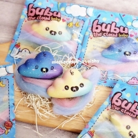 SQUISHY LICENSED galaxy/rainbow mini baby bubu the cloud by momocuppy