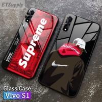 Glass case casing supreme vivo S1