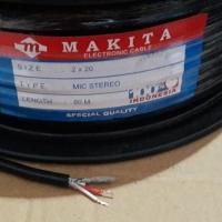 Kabel Audio Mic Stereo Makita Original 2x20 80 M / Kabel Sound