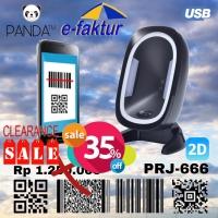 2D PANDA E-FAKTUR OMNI IMAGE BARCODE SCANNER (QR CODE/PDF417/EFAKTUR)