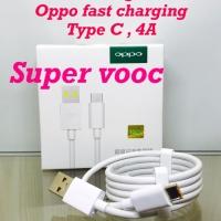 Kabel data oppo 4A type C super fast Charger vooc Original kabeldata