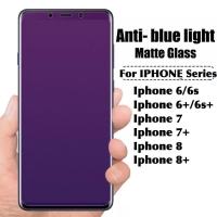 Tempered glass anti blue light 10D iphone 6 6s 7 8 plus 6+ 7+ 8+ full
