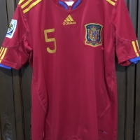 JERSEY SPANYOL SPAIN WORLD CUP 2010
