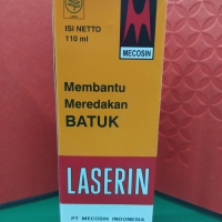 Laserin Besar 110 ML obat batuk syrup