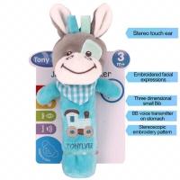 Boneka Rattle stick karakter / Rattles Musik Mainan Bayi /mainan bayi