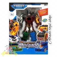MAINAN TOBOT MAGMA 6 / ROBOT MOBIL TRANSFORMER 6 IN 1
