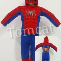 Terlaris Kostum Busa Spiderman Big Size 16,18,20