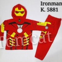 Baju Kostum Anak Terlaris IRON MAN