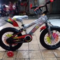 Sepeda Anak BMX 16 Mazara Ban Jumbo Roda Samping Nyala