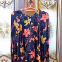 Mango Floral Print Blouse