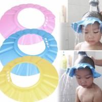 Topi Keramas Bayi / Anak - Topi Pelindung Air Mandi - Topi Mandi