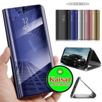 OPPO F1S FLIP COVER CASE CLEAR VIEW STANDING SARUNG MIRROR WALLET