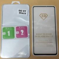 Tempered Glass 5D Xiaomi Mi 9T Black
